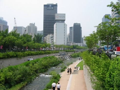 Korea Seoul Cheonggyecheon